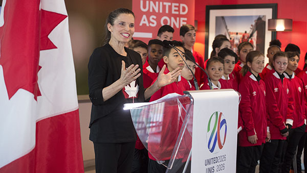 Canada Supports Joint Bid To Co-host 2026 FIFA World Cup™ With Mexico And US