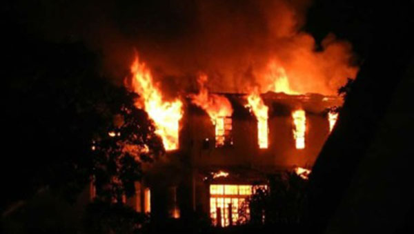 Fire Destroys Building Housing St. Lucia's Most Extensive Collection Of Cultural And Historical Artefacts