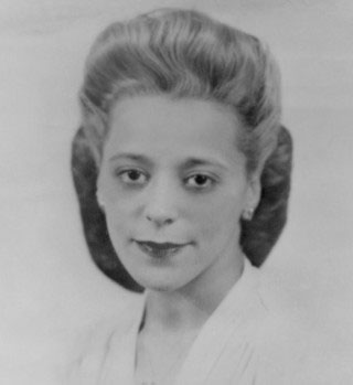 Viola Desmond portrait, ca. 1940. Communications Nova Scotia.