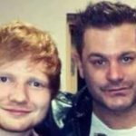 Pop artist, Ed Sheehan (left) and his cousin, Jethro 'Alonestar' Sheeran.
