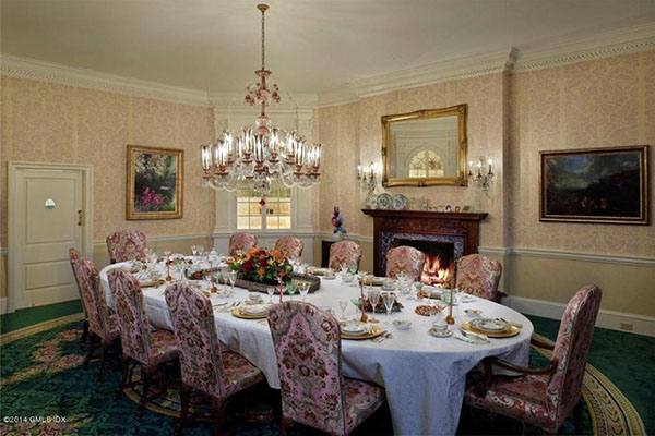 Trump First Mansion -- dining room