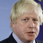 Great Britain's Foreign Minister, Boris Johnson, seen during a joint press conference with his counterpart from Germany, Frank-Walter Steinmeier, at the foreign ministry in Berlin, Germany, Friday, Nov. 4, 2016. (AP Photo/Michael Sohn)