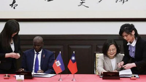 Taiwan And Haiti Sign New Bilateral Agreement