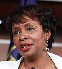Caribbean American Congresswoman Yvette D. Clarke.