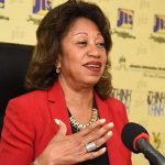 President of Jamaica Promotions Corporation (JAMPRPO), Diane Edwards. Photo credit: Adrian Walker/JIS.