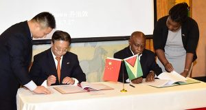 Guyana Signs Onto China's 'Road And Belt' Initiative