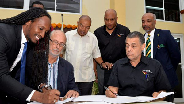 Jamaica's G.C. Foster College And Sprintec Track Club Sign MOU To Train World-Class Athletes