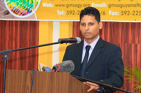 Guyana Manufacturing and Services Association's President, Shyam Nokta.