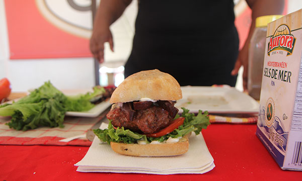 A jerk chicken sandwich that was offered at last year's festival.