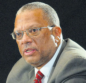 Opposition Leader, Dr. Peter Phillips.