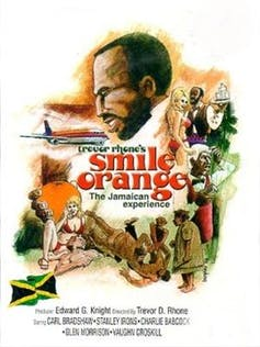 'Smile Orange' (1976) takes a critical look at tourism in Jamaica. Smile Orange/Knuts Production.