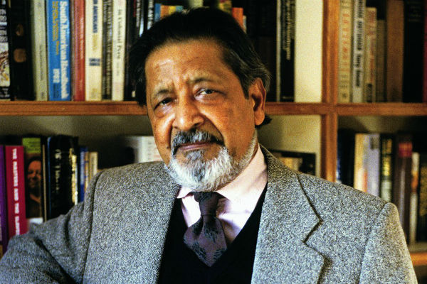 A decades-younger Sir VS Naipaul.