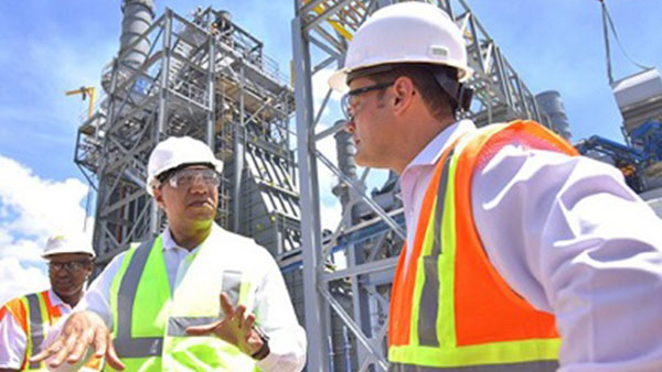 Jamaican Prime Minister Says Power Plant Can Spur Increased Investment In The Country