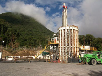 Dominica-geothermal plant