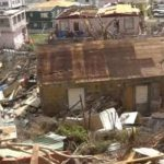 Hurricane damage in Dominica. Photo credit: CMC file photo.