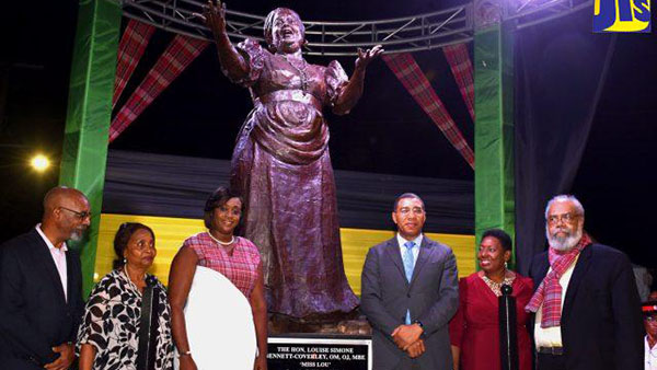 Miss Lou Statue Unveiled; Greeted By Loud Cheers And Applause