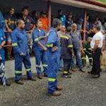 PETROTRIN workers.