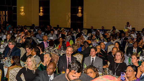 The over-600-strong audience at the Dominica Rising Benefit Gala, celebrating Dominica's 40th Independence anniversary, last Saturday. Photo by Robert Larocque.