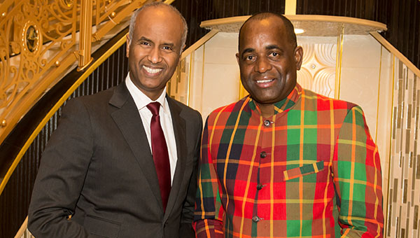 Dominica Prime Minister Visits Toronto