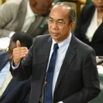 Jamaica's Minister of National Security, Dr. Horace Chang, highlights a point, while making a statement in the House of Representatives on Tuesday (October 30). Photo credit: Adrian Walker.