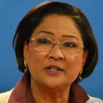 Trinidad and Tobago Opposition Leader, Kamla Persad Bissessar. Photo by Control Arms - https://www.flickr.com/photos/controlarms/9936466353/, CC BY 2.0, https://commons.wikimedia.org/w/index.php?curid=32085372.