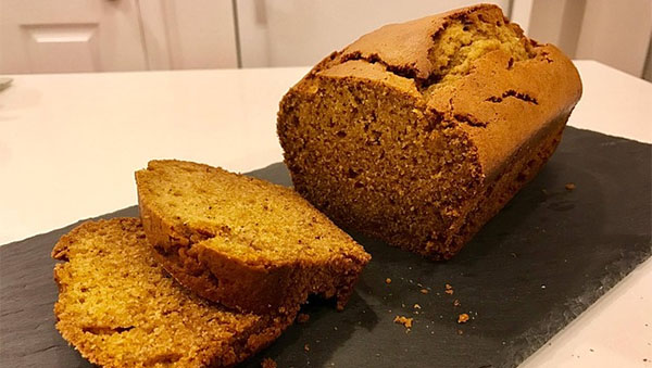 Pumpkin Cornmeal Bread