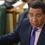 Prime Minister, Andrew Holness, addresses the House of Representatives on November 13. Photo credit: Rudranath Fraser.