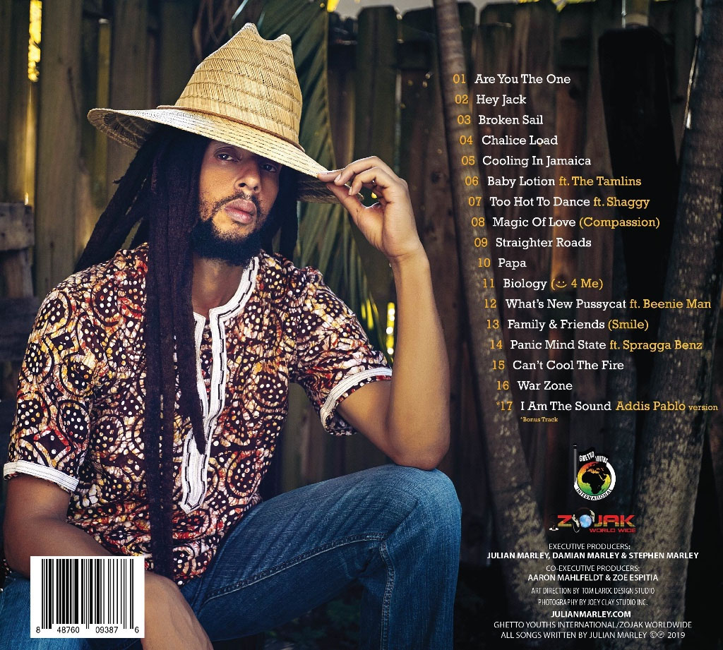 Julian Marley album