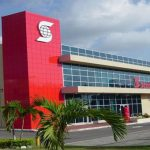 The Scotiabank branch in Antigua and Barbuda.