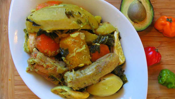 "An Unconventional ""Oil Down"", Grenada's National Dish"