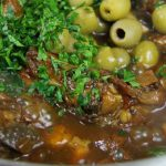 Tasty Mushroom Olive Stewed Chicken