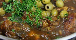 Tasty Mushroom Olive Stewed Chicken