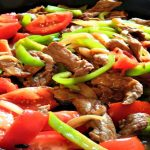 Beef Peppers and Tomatoes