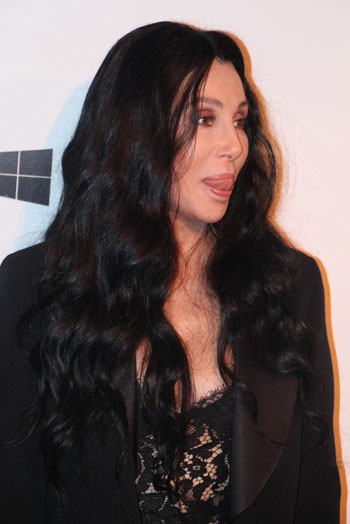 Cher, 71, at an amfAR event, in 2015, seems not to have lost her sex appeal. Photo credit: Renan Katayama - 21 - Cher-002, CC BY-SA 2.0, https://commons.wikimedia.org/w/index.php?curid=41277562.
