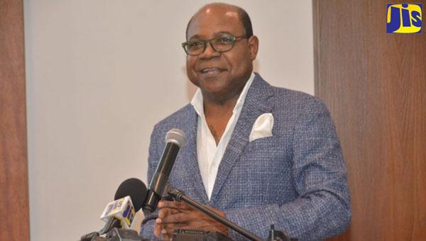 Jamaica's Minister of Tourism, Edmund Bartlett. Photo credit: Serena Grant/JIS.