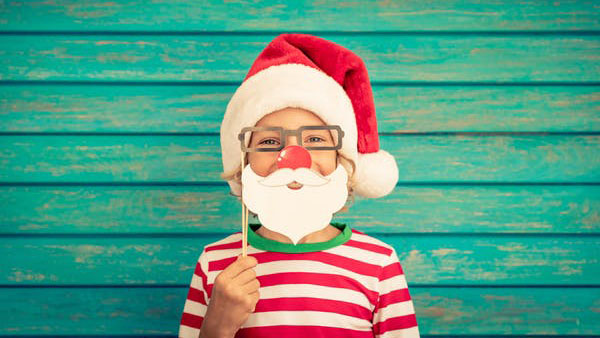 Research suggests not many children over the age of seven-and-a-half believe in Santa.