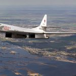 Two Russian-made, nuclear-capable bombers, like the one, above, seen flying in Russia, arrived in Venezuela, on Monday. Photo credit: Alex Beltyukov - http://russianplanes.net/id166426, CC BY-SA 3.0, https://commons.wikimedia.org/w/index.php?curid=42174662.
