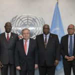 CARICOM Meets With UN Leadership: Holds Out Hope For Peaceful Solution In Venezuela