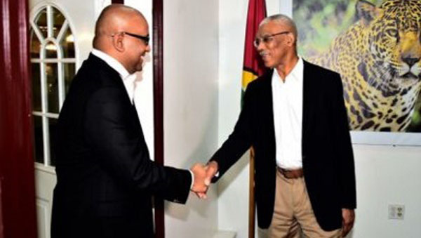 Guyana's President And Opposition Leader To Meet Next Week To Discuss No Confidence Motion Resolution