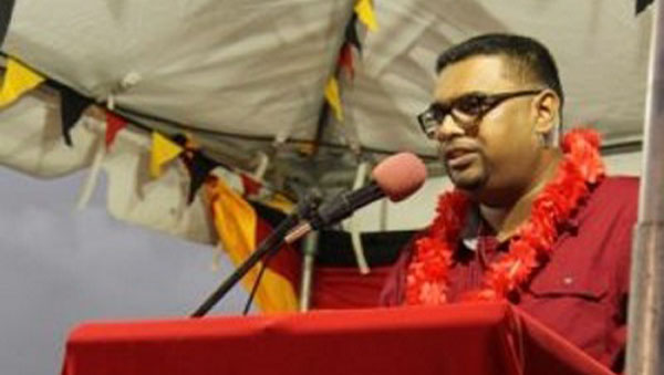 Guyana Opposition Party's Newly-Elected Presidential Candidate Outlines Priorities Should It Be Returned To Office