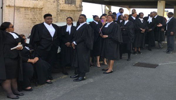 Lawyers Protest State Of Judiciary In Grenada
