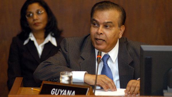 Career Guyanese Diplomat Dr. Mohammed Ishmael Dead