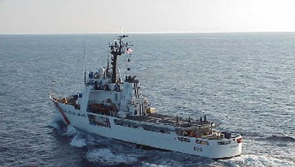 US Coast Guard Cutter Deters Illegal Migration And Drug Trafficking In Caribbean Sea