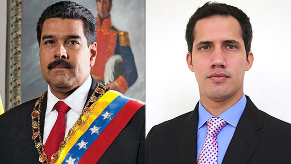 In Venezuela, Two Presidents Vie For Power