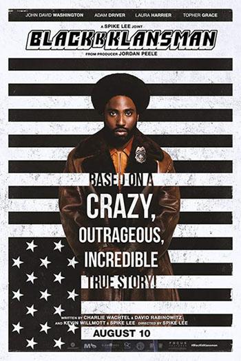 Black Klansman -- Poster image
