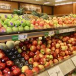Even with a metre of snow outside in Ottawa, Canada, a wide variety of imported apples and other fruits are available in Canadian food markets. Credit: Stephen Leahy/IPS.