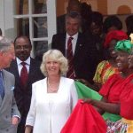 The Prince of Wales (left) and the Duchess of Cornwall seen visiting Jamaica, in March 2008. Photo by Mattnad - Own work, CC BY-SA 3.0, https://commons.wikimedia.org/w/index.php?curid=4777552.