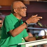 Guyana's President, David Granger, Urges Supporters To Re-Elect His Administration