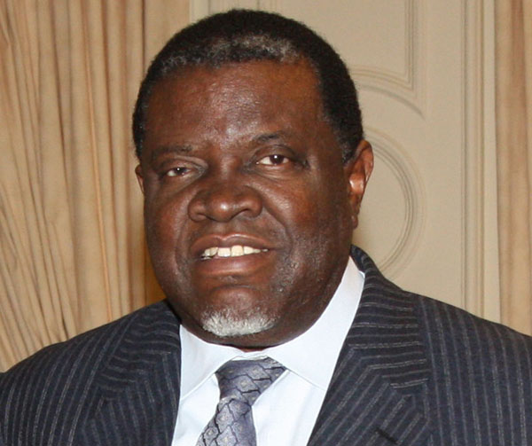 Namibian President Hage Geingob. Photo by Foreign and Commonwealth Office - https://www.flickr.com/photos/foreignoffice/5863844792/, OGL, https://commons.wikimedia.org/w/index.php?curid=28249682.