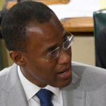 "Jamaica's Finance Minister, Dr. Nigel Clarke, welcomed the unemployment figures, tweeting that the economy is ""moving in the right direction"". Photo credit: Rudranath Fraser/JIS."